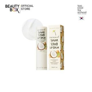 Tẩy Da Chết Môi Too Cool For School Coconut Sugar Scrub Lip Balm 3.4g