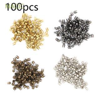 MAGIC 100pcs Mini Super Small Toys Metal Round Bead Buckle