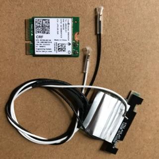 Card thu sóng wifi tốc độ cao cho laptop + máy PC(kèm anten) Intel 9560NGW AC9560 2.4G/5G 300Mbps+1730Mbps+Bluetooth 5.0