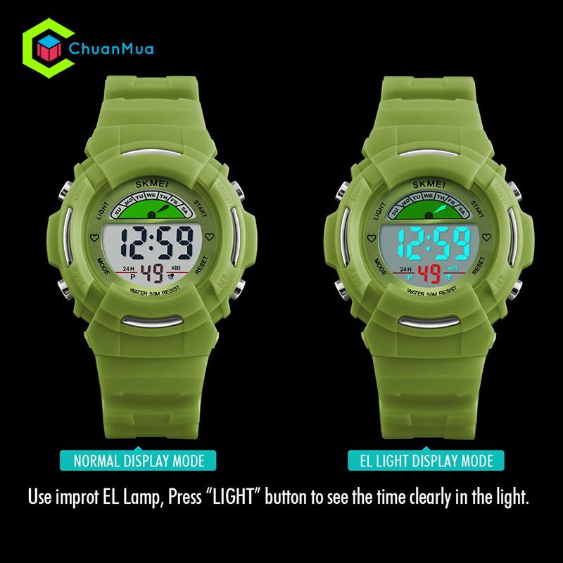Đồng hồ cho bé trai SKMEI 1272 chống nước siêu bền - DHA532