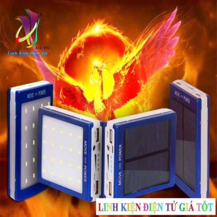 Box sạc dự phòng năng lượng mặt trời loại tốt 5V 2A - phải hàn pin  Vprooo