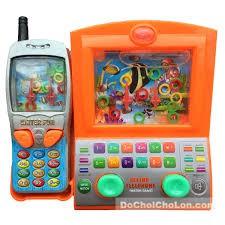 Đồ chơi bấm nước máy tính – điện thoại