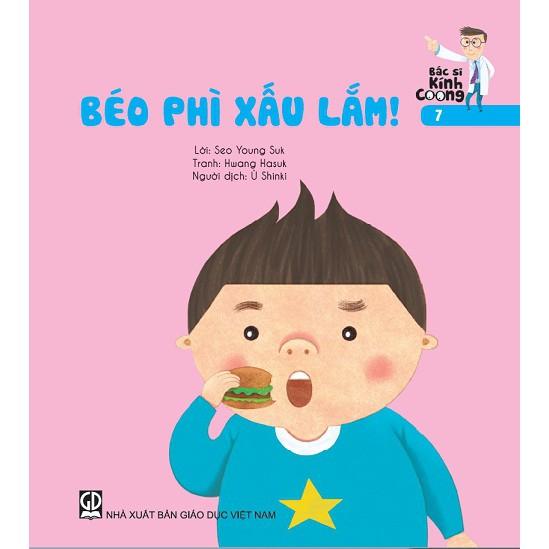 Sách Truyện Bác sĩ Kính Coong tập 7 – Béo phì xấu lắm
