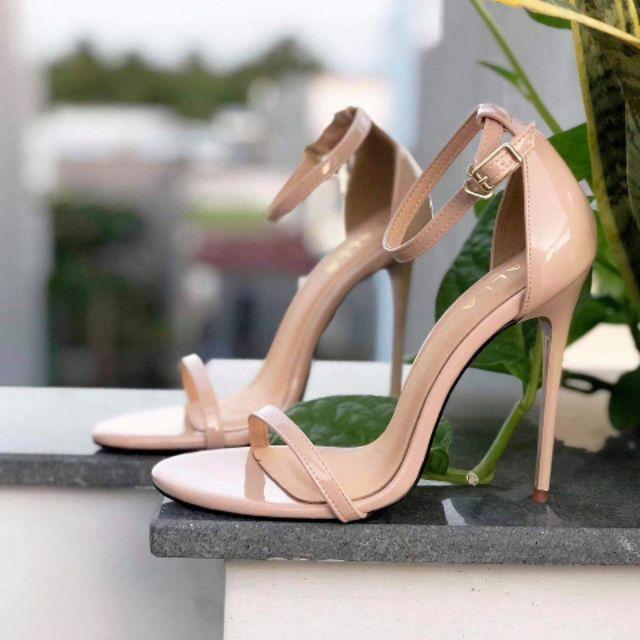 giày cao gót sandal quai mảnh