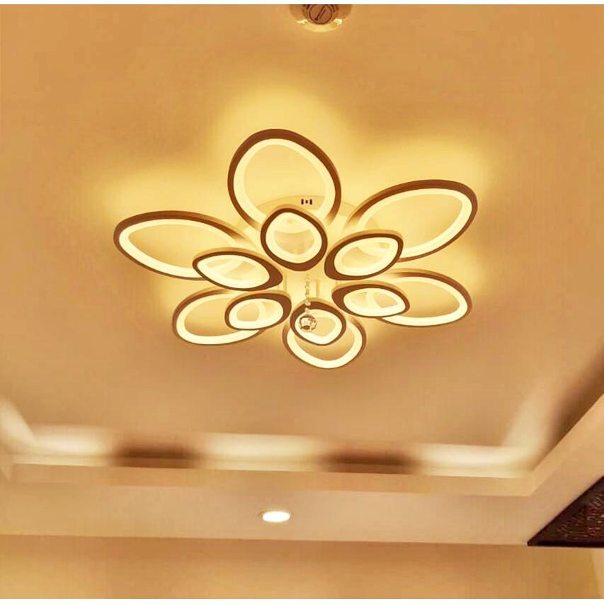 Đèn Ốp Trần LED Hiện Đại-Có Điều Khiển-Bảo Hành 2 Năm