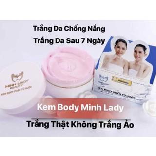Kem body phân tử nước Minh Lady Beauty.