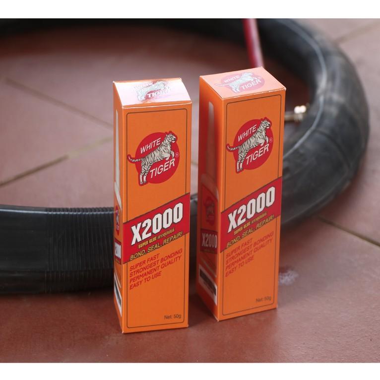 Keo dán siêu dính X2000 đa năng dán được mọi vật liệu Keo dán ghỗ, thủy tinh, kim loại, sắt, gốm sứ, nhựa