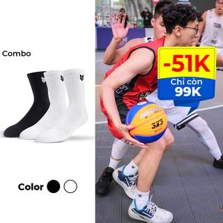 Tất Thể thao Redikick R365 Training Cushion Cotton Cổ cao Có đệm Chống hôi chân vớ bóng rổ bóng đá chạy bộ Gym