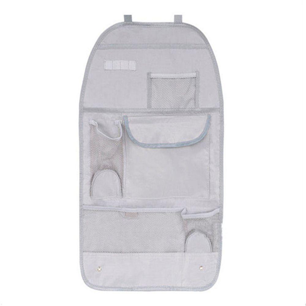 Túi đai dán nhiều ngăn đựng đồ sau ghế trước xe hơi