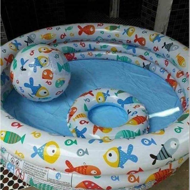 Bộ Bể Bơi Intex 3 chi tiết