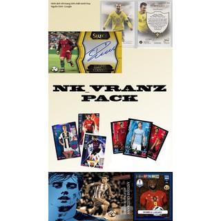"""""""Nk_vranz pack"""" Pack 4 thẻ cầu thủ/thẻ bóng đá gồm nhiều loại – xem chi tiết ở phần mô tả"""
