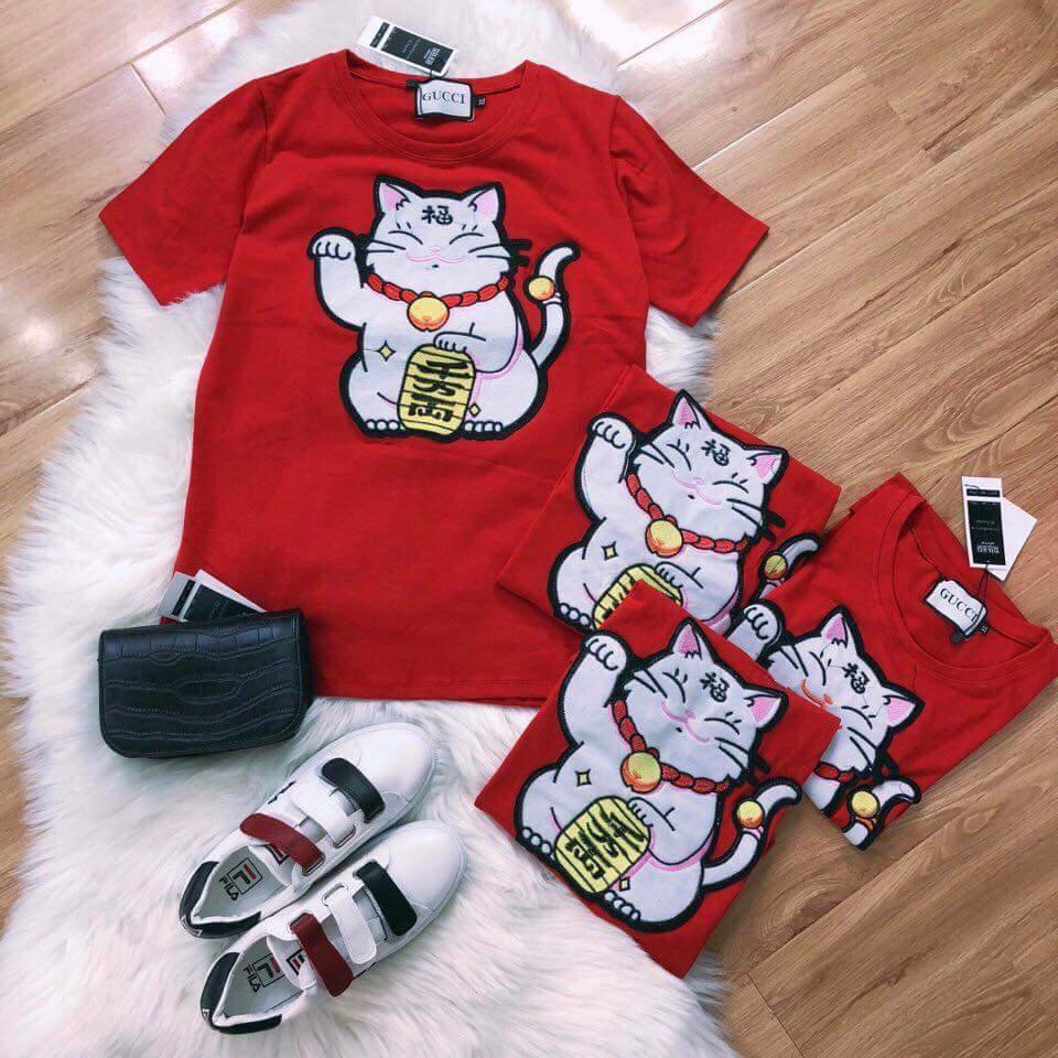 Áo thun nền đỏ mèo thần tài - 2906008 , 806217473 , 322_806217473 , 175000 , Ao-thun-nen-do-meo-than-tai-322_806217473 , shopee.vn , Áo thun nền đỏ mèo thần tài