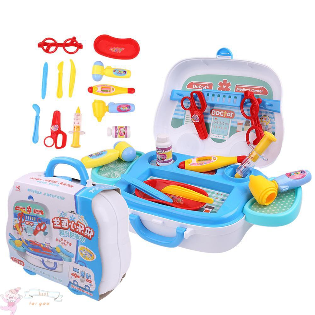 ✥JFY✥Children Doctor Nurse Medical Equipment Pretend Play Role Games Toys Set