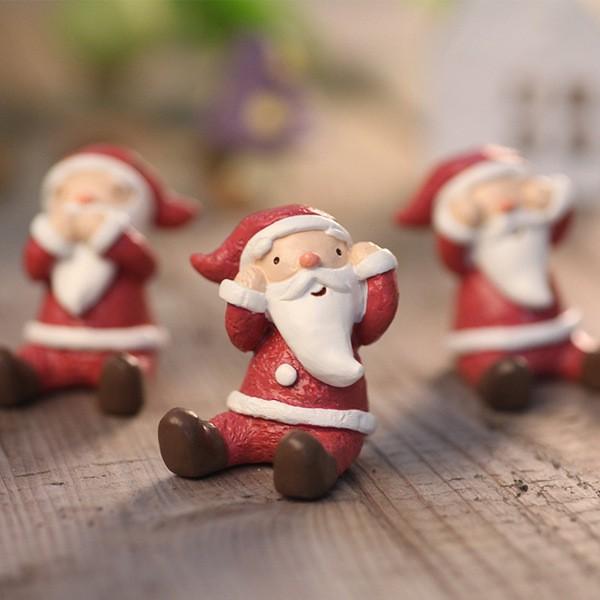Phụ Kiện Trang Trí Giáng Sinh Hình Động Vật Xinh Xắn