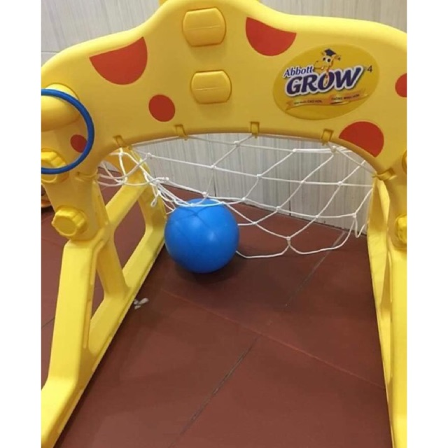 Bộ thể thao 4 in 1: bóng đá, bóng rổ, ném vòng
