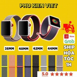 Dây Apple Watch chất liệu Nylon cao cấp , ôm tay dành cho đồng hồ thông minh Series 6/5/4/3/2/1/SE - Phụ Kiện Việt