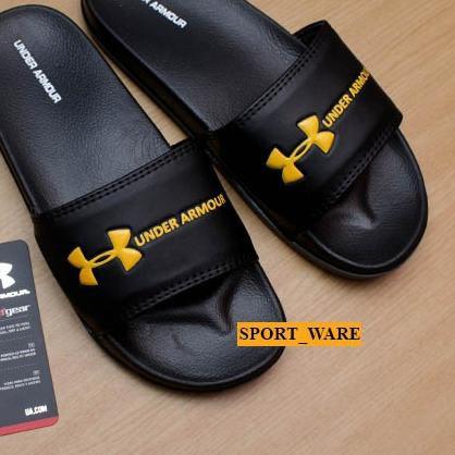 Giày Sandal Thể Thao Màu Vàng / Đen Cho Nam Nữ