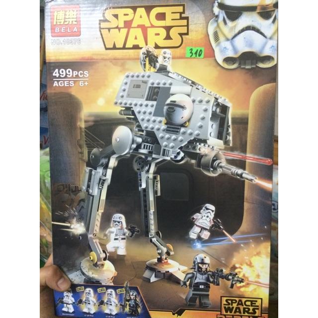 Xếp Hình Chiến Xa Cộng Hoà Bela Space Wars No10376