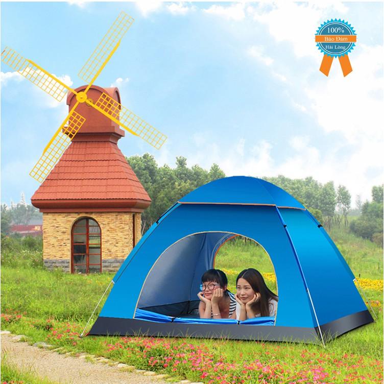 Lều dã ngoại tự bung chống nước chất lượng cao 2m x 2m - Lều cắm trại