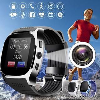 Đồng Hồ Thông Minh T8 Kết Nối Bluetooth Hỗ Trợ Thẻ Sim Và Thẻ Nhớ Tf Cho Android