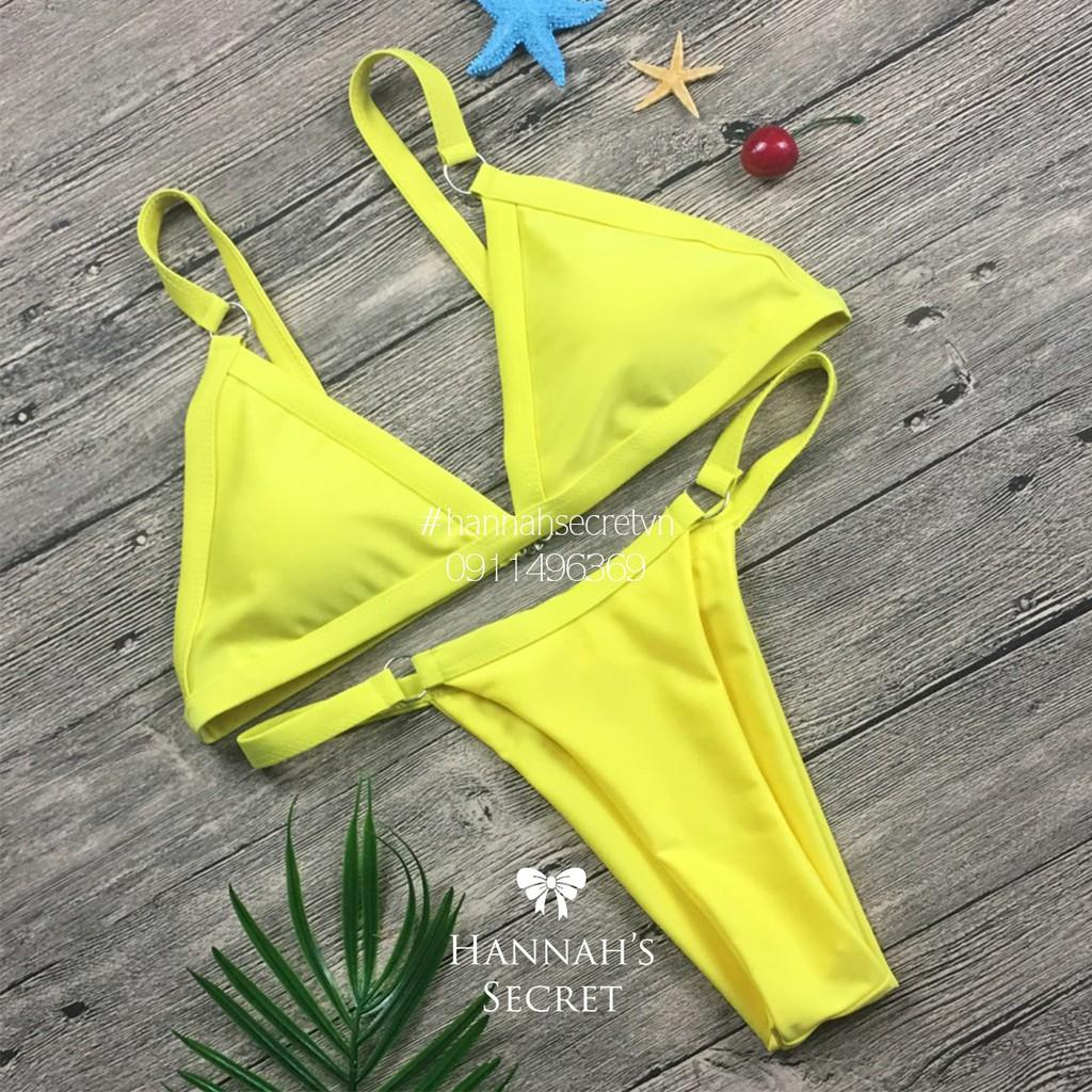 [ Ảnh thật] Bikini 2 mảnh phối khoen thời trang sexy | WebRaoVat