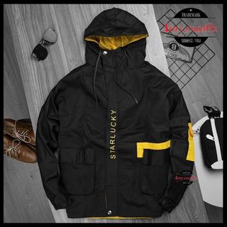 Áo Khoác Nam Nữ Kaki form rộng túi hộp áo khoát khoác jacket kaki cao cấp unisex dày 2 lớp – Amy.Coat0x