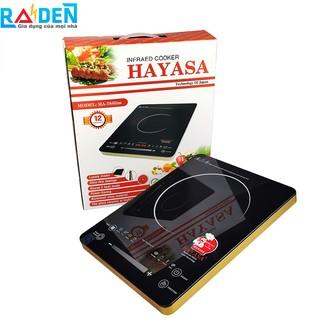 Bếp hồng ngoại cảm ứng cao cấp Hayasa HA-78Slim với 2 vòng nhiệt có thể điều chỉnh