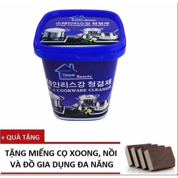 Kem Tẩy Xoong Nồi Và Đồ Gia Dụng Hàn Quốc + Tặng Miếng Cọ Đa Năng - 10004495 , 797939925 , 322_797939925 , 99000 , Kem-Tay-Xoong-Noi-Va-Do-Gia-Dung-Han-Quoc-Tang-Mieng-Co-Da-Nang-322_797939925 , shopee.vn , Kem Tẩy Xoong Nồi Và Đồ Gia Dụng Hàn Quốc + Tặng Miếng Cọ Đa Năng