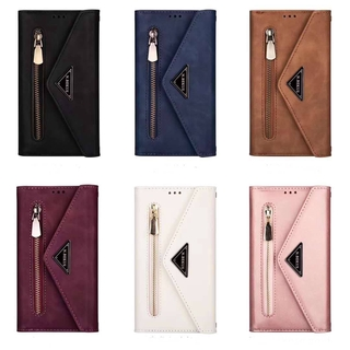 For Samsung A70S A71 Note 10 Lite M60S A91 S10 Lite A51 A71 5G fashion simple leather handle multi-parking mobile phone shell with rope wallet
