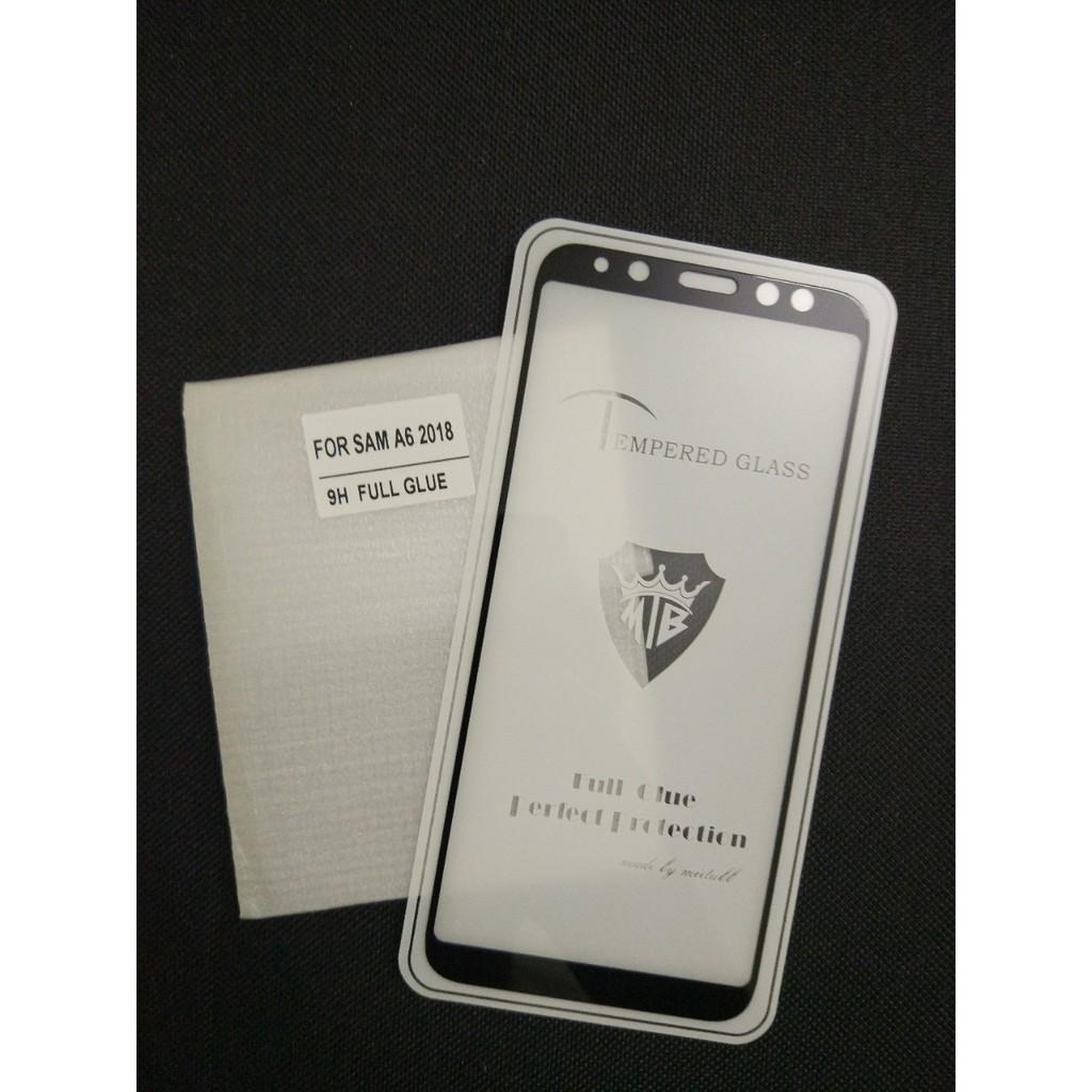 Cường lực 5D Samsung A6 _ Cường lực full 5D, full màn, full keo, không chấm liti cho Samsung galaxy