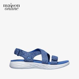 [Mã FASHIONBMS12 giảm 15% tối đa 500K đơn từ 1 triệu] SKECHERS - Giày sandal nữ quai chéo On The Go 600 140027-BLU thumbnail