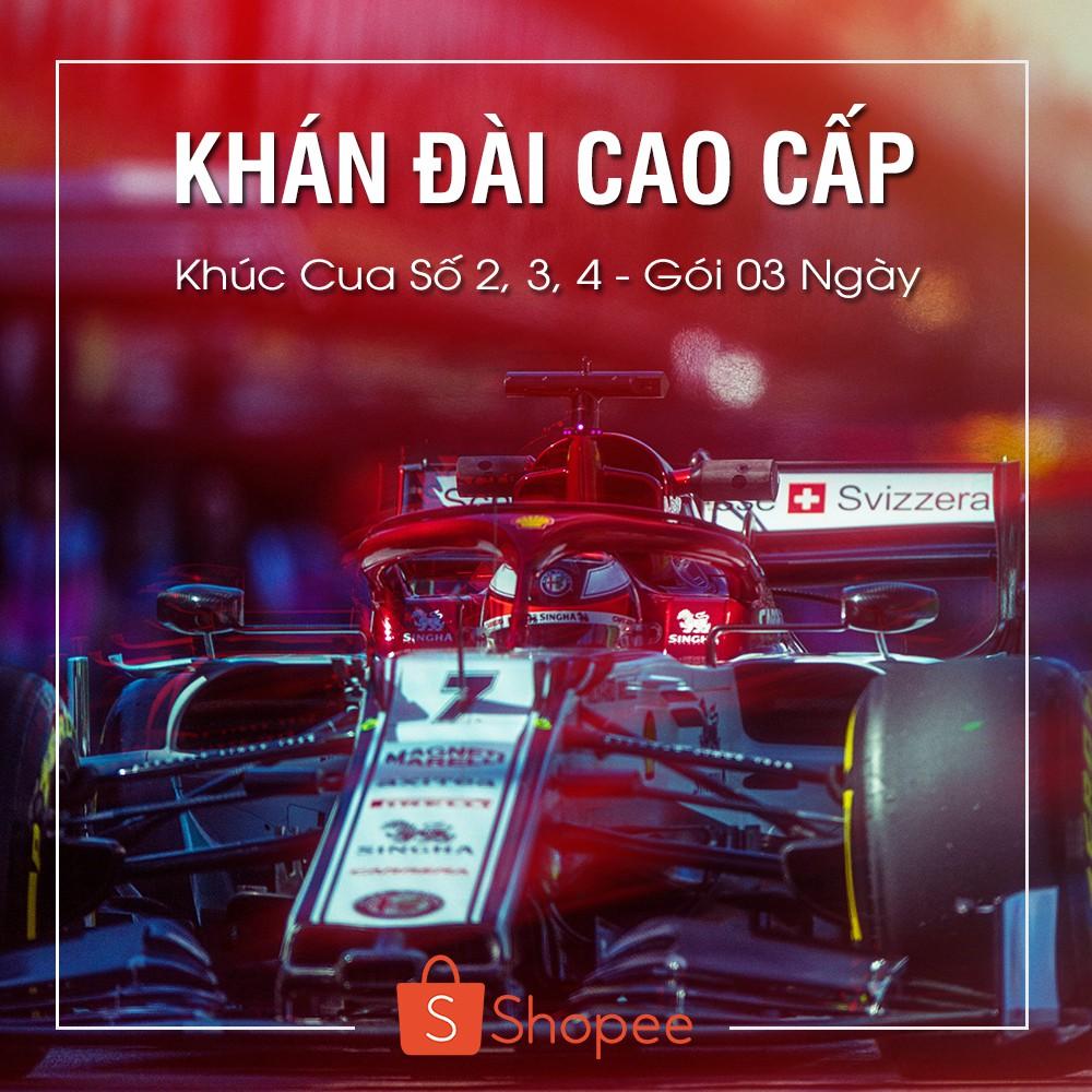 [E-Voucher] 01 Vé Khán Đài Cao Cấp - Khúc Cua Số 2-3-4 - Gói 03 Ngày - F1 Vietnam Grand Prix [Hà Nội]