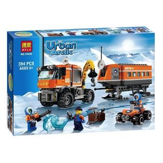 Lego lắp ráp xếp hình mô hình tiền đồn cực Bắc 394 khối BELA10440