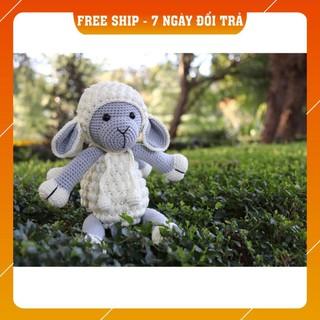 [Xả Hàng] Cừu xám – Toys made by The Bunny
