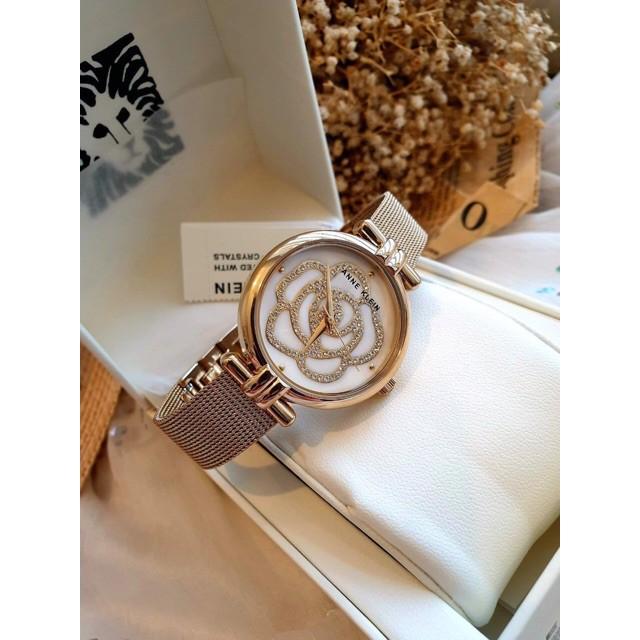 Đồng hồ nữ Anne Klein 3102 hoa pha lê gold - đồng hồ nữ cao cấp Đồng hồ nữ Anne Klein 3102 hoa pha lê gold