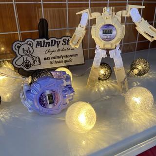 Đồng hồ robot Đồ chơi trẻ em biến hình Siêu nhân cực ngầu. thumbnail
