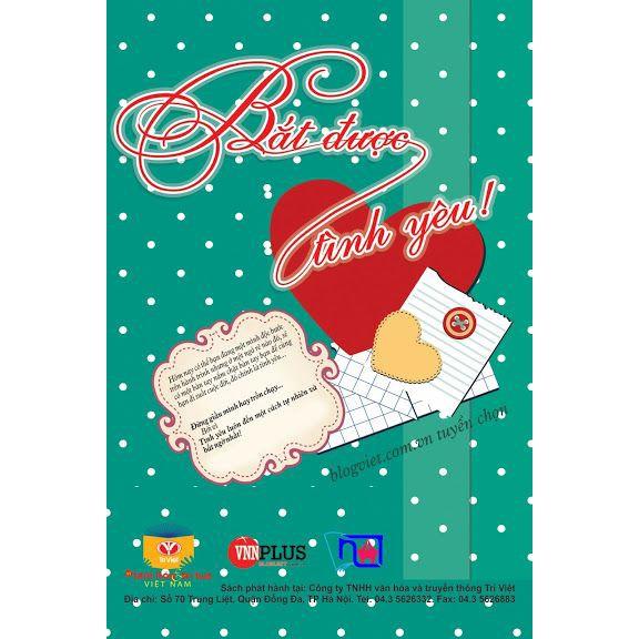 Sách - Bắt được tình yêu (Tặng Kèm VCD : Bóng Mát Tâm Hồn)