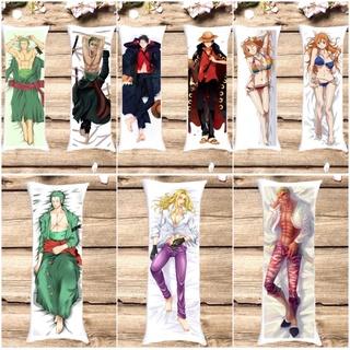 Gối ngủ anime one piece 40cm x 1m / gối ôm dài one piece