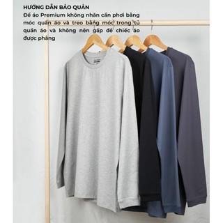 Hình ảnh [Mã APMACL2910 Giảm 20% tối đa 50k cho đơn từ 99k] Áo thun dài tay nam Cotton Compact Premium thương hiệu Coolmate-5