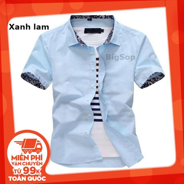 [Freeship từ 99K] Bộ sưu tập mẫu áo sơ mi nam Hàn Quốc ngắn tay( 6