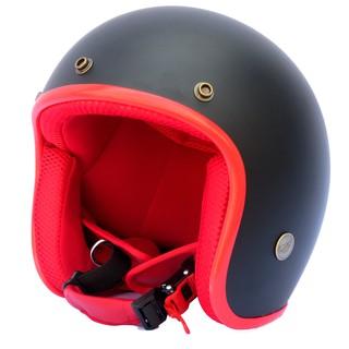 Hình ảnh Mũ bảo hiểm NTMAX 3/4 đen nhám (nhiều màu) cao cấp chuẩn quatest 4-1