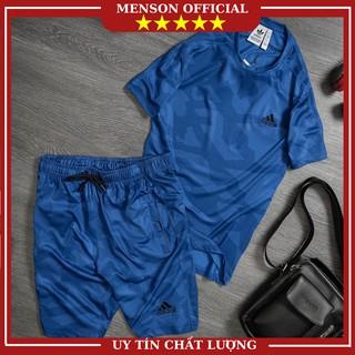 Bộ thể thao nam mùa hè chất mát đồ bộ nam mặc nhà adidas cao cấp co giãn chuẩn form MENSON BTT05