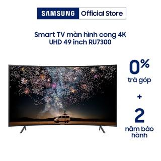Hình ảnh [Mã SAMSRU73 giảm 10% đơn 7TR] Smart Tivi Samsung 4K 49 inch UA49RU7300KXXV-0