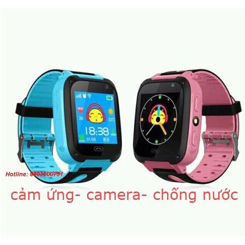 Đồng hồ thông minh định vị GPS trẻ em ( cảm ứng, camera, chông nước )
