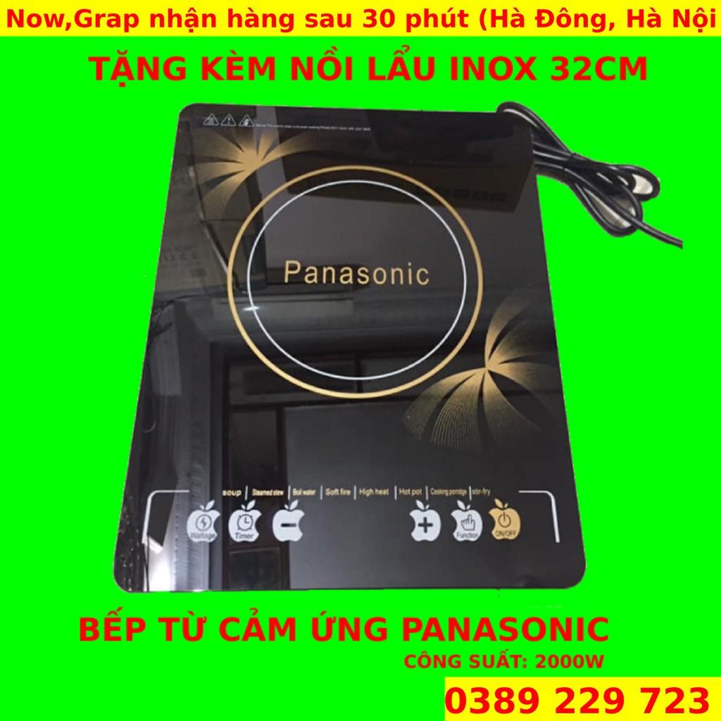 Bếp từ đơn Panasonic Thiết kế nhỏ gọn sang trọng TẶNG KÈM 1 NỒI LẨU giá  cạnh tranh