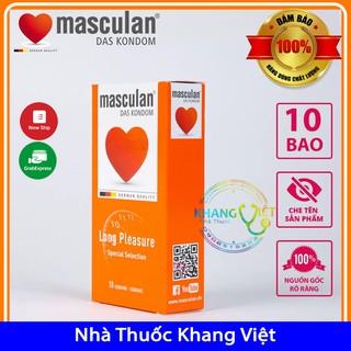 Bao Cao Su Masculan Long 5 in 1 - Gân Gai Kéo Dài Thời Gian Quan Hệ (hộp 10) thumbnail