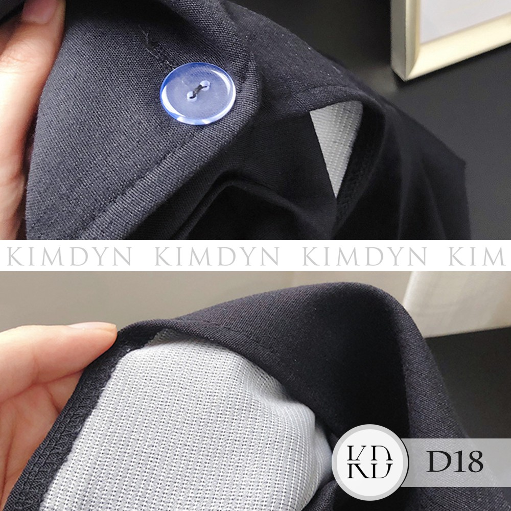 Đầm vest Váy ngắn cổ V cotton sang trọng [KDD18]