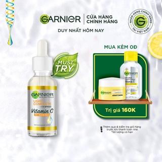 Hình ảnh Tinh chất tăng cường sáng da mờ thâm Garnier 30ml-0