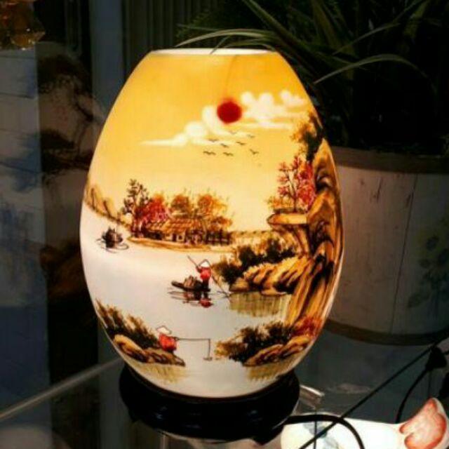 Đèn xông tinh dầu Bát Tràng mẫu trứng
