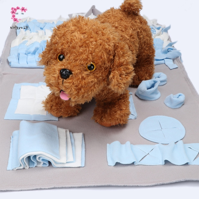 Pet Snuffle Mat Dog Feeding Smell Training Washable Play Mat